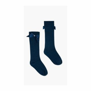 Boboli детски 3/4 чорапи Тъмносин