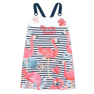 Boboli Детска рокля Фламинго Sailor