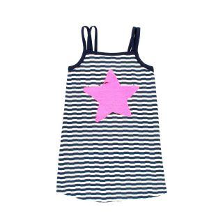 Boboli Детска плажна рокля със звезда от пайети Beach Life