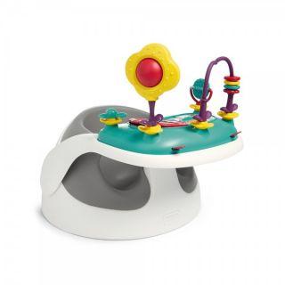 Mamas & Papas Столче Baby Snug с табла с играчки - Grey