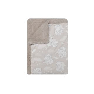 Interbaby бебешко луксозно одеяло-розово