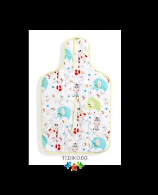 Interbaby бебешка подложка за преповиване Jungle (45x75см)