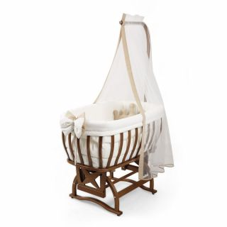 Бебешко легло-люлка и спален комлект - червен | Tahterevalli