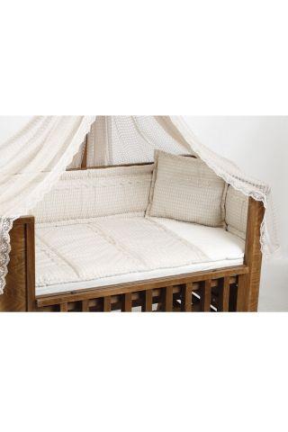 Легло-люлка с матрак и спален комплект Milan Tahterevalli T0028coffee