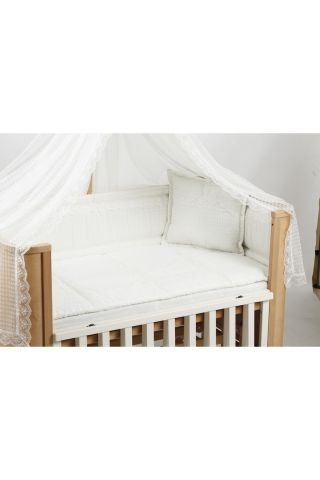 Легло-люлка с матрак и спален комплект Milan Tahterevalli T0028wh