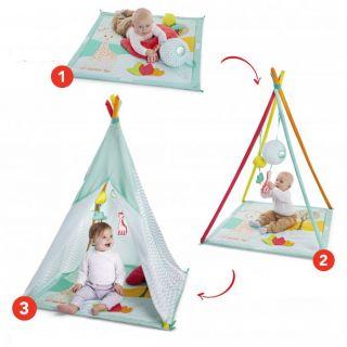 Sophie giraffe Палатка - матраче за игра