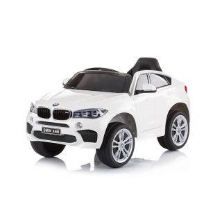 Chipolino Лицензиран акумулаторен джип с дистанционно управление BMW X6 бял