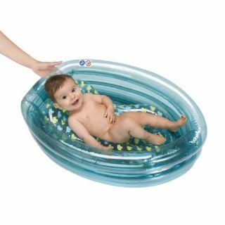 Babymoov Надуваема бебешка вана, синя