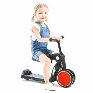 Chipolino детски скутер 4 в 1 ALL RIDE червен