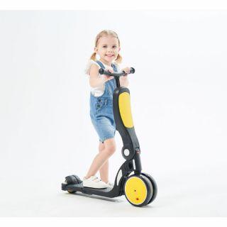 Chipolino детски скутер 4 в 1 ALL RIDE жълт