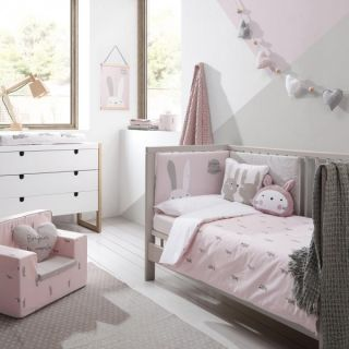 Petit Praia Бебешки спален комплект 60х120см - Pink Etoile