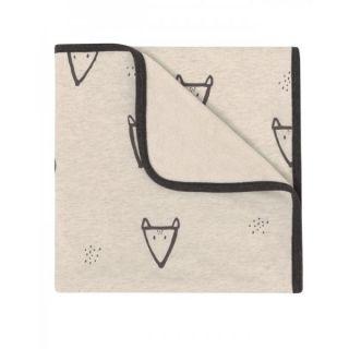 Baby Clic Бебешко памучно одеяло 75х80см – Fox
