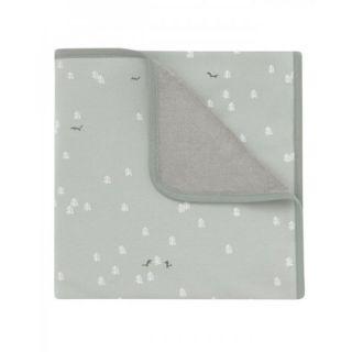 Baby Clic Бебешко памучно одеяло 75х80см – Green Moss