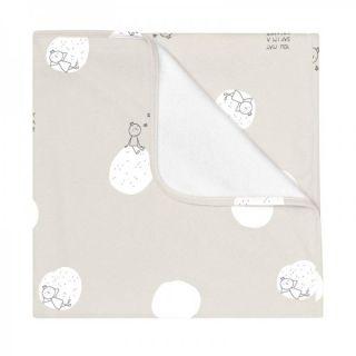 Baby Clic Бебешко одеяло 75х80см - Dreamer Grey