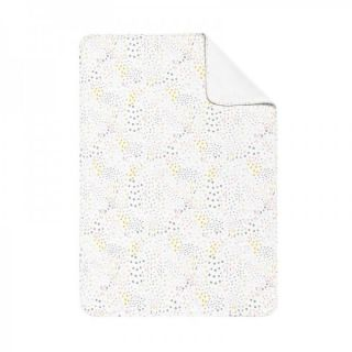 Baby Clic Двулицево бебешко одеяло 80х110см - Bloom