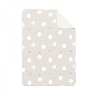 Baby Clic Двулицево бебешко одеяло 80х110см - Dreamer Grey