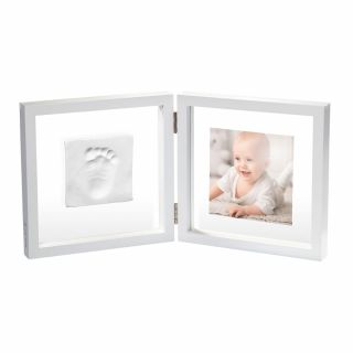 Baby Art My Baby Style - Отпечатък + снимка - бяла рамка, прозрачно паспарту