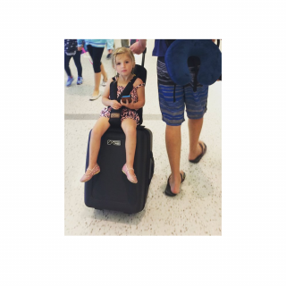 Bagrider Куфар За Ръчен Багаж + Седалка За Дете Mountain Buggy