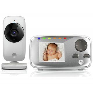 Motorola бебешки бебефон с камера MBP482