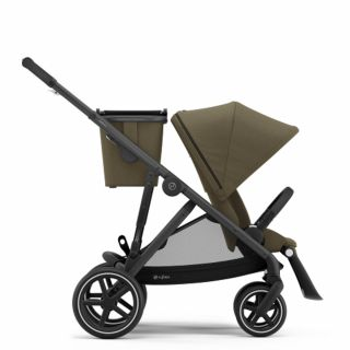 Бебешка количка за близнаци Cybex Gazelle S Classic Beige black