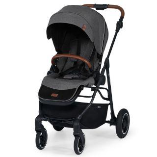 Бебешка количка KinderKraft ALL ROAD, сива