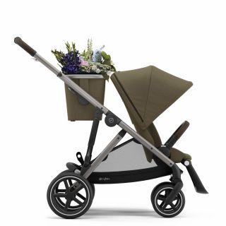 Бебешка количка за близнаци Cybex Gazelle S Classic Beige taupe