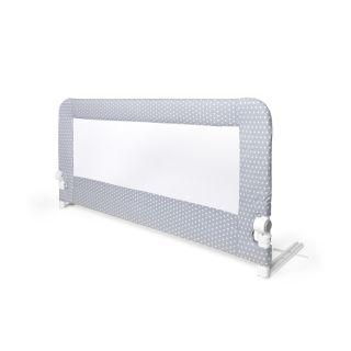 Interbaby преграда за детско легло Grey (150x70см)
