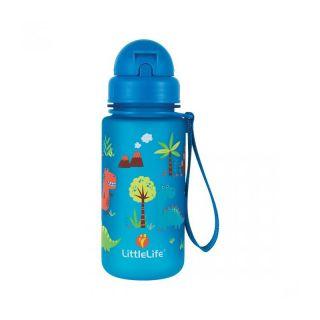 Неразливаща се детска бутилка за вода LittleLife Динозавър,  400 мл