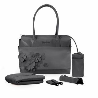 Чанта за количка Cybex SIMPLY FLOWERS Dream Grey