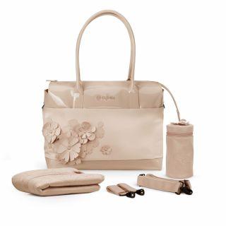 Чанта за количка Cybex SIMPLY FLOWERS Nude Beige