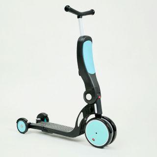 Chipolino детски скутер 4 в 1 ALL RIDE син