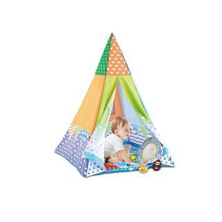 Chipolino Постелка за гимнастика и палатка за игра 2в1, Парти