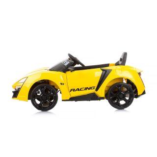 Chipolino Акумулаторна кола с дистанционно, ФОРМУЛА, жълт