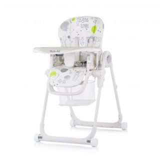 Chipolino детски стол а хранене Master Chef, мъгла