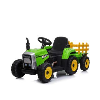 Chipolino Електрически Трактор с ремарке, зелен