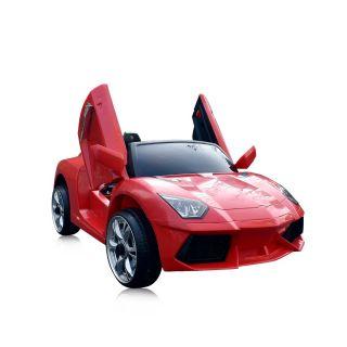 Chipolino детска акумулаторна кола Вайпър, червен