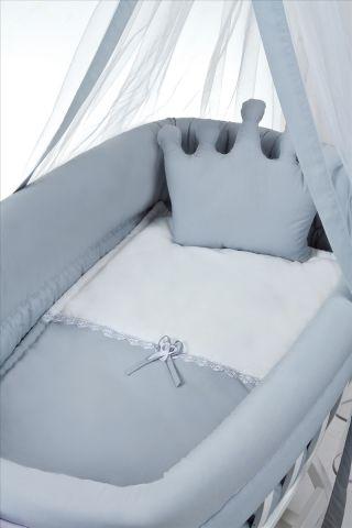 Бебешко легло-люлка и спален комлект - беж   Tahterevalli
