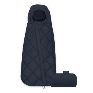 Cybex Универсален термочувал за кошница за кола, 35х75см Snogga Mini Nautical Blue