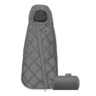 Cybex Универсален термочувал за кошница за кола, 35х75см Snogga Mini Soho Grey
