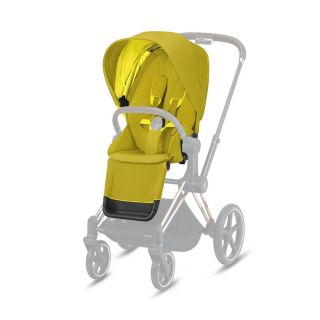 Тапицерия за седалка Cybex Priam и e-Priam Seat pack Lux Mustard Yellow 2020