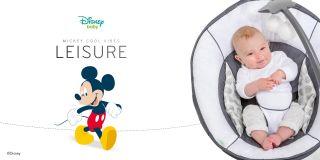 Бебешки шезлонг Hauck Mickey Cool Vibes
