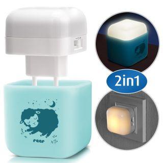 Детска нощна лампа 2 в 1 Reer 52143