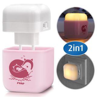 Детска нощна лампа 2 в 1 Reer 52144