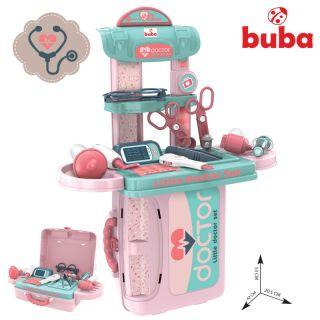 Детски лекарски комплект Buba Little Doctor 008-975, Син/розов