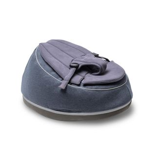 Doomoo Адаптираща се възглавница - барбарон с люлка Seat`n Swing Blue