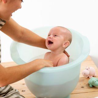 Doomoo Basics Вана за къпане на новородено Shantala Mint