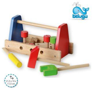 Дървени инстументи с кутия Beluga