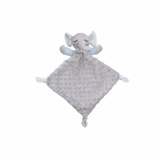 Interbaby Подаръчен сет ДуДу Играчка за гушкане и приспиване синьо Слонче