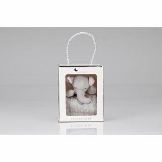 Interbaby Подаръчен сет ДуДу Играчка за гушкане и приспиване розово Слонче