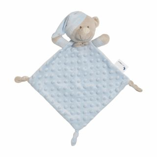 Interbaby Подаръчен сет ДуДу Играчка за гушкане и приспиване синьо Мече